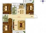 三居户型图