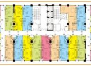 禹州恒达多宝寓户型图 loft